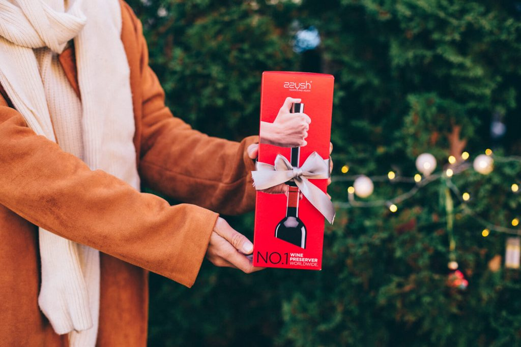 wine preserver christmas gift
